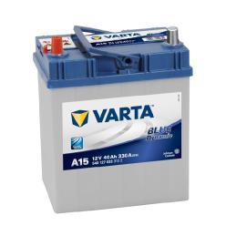 VARTA BLUE (A15) 12V. 40AH 330A.+I JAPON