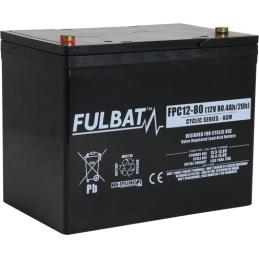 FULBAT FPC12-80 (T6)80Ah AGM CICLICA