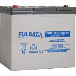 FULBAT FPG12-50(T6)50Ah GEL CICLICA