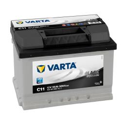 VARTA BLACK (C11) 12V. 53AH 500A.+D(242X