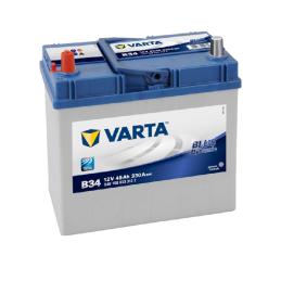 VARTA BLUE (B34) 12V. 45AH 330A.+I JAPON
