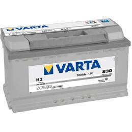 VARTA SILVER (H3) 12V 100AH 830A +D