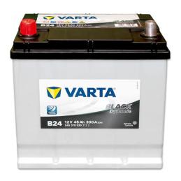 VARTA BLACK (B24) 12V 45AH 300A.+I JAPON